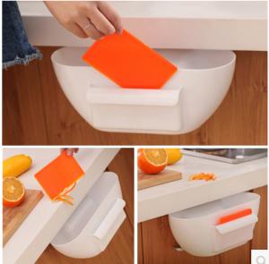 创意厨房垃圾储物盒/厨房收纳盒--白色
