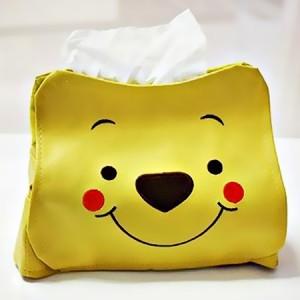 维尼熊皮质纸巾抽