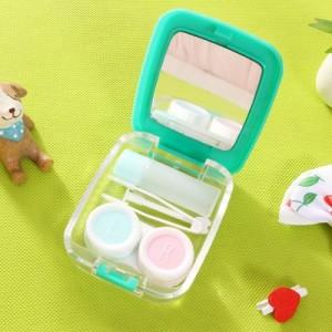 猫の物语隐形眼镜盒 时尚隐形眼镜护理盒 伴侣盒 MH14-444 围巾猫