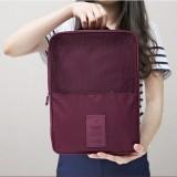 旅行收纳袋整理包   旅游必备行李箱防水鞋包鞋盒 粉色