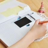 韩国文具 IPHONE4便携式随身笔记本 记事本 硬抄本 YNO-2008