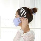 防雾霾 防晒隔离 抗菌透气防PM2.5 口罩 男女通用款(L码) 黑色