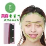 带镜子黄瓜美容切片器 DIY卷笔刀面膜器-粉色 200个/箱