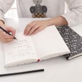 时尚黑米硬抄本 LB32K11-0529 白色