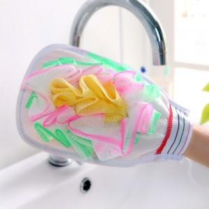 带浴花沐浴手套 搓澡巾