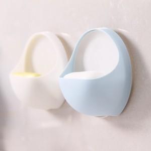 吸盘香皂架 卫浴置物架(OPP袋装) 白色