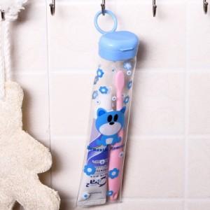 创意旅行可悬挂牙刷牙膏收纳盒 R48 粉红