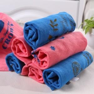 纯棉儿童婴儿毛巾 方巾 皇冠小方巾 MH14-691 红色