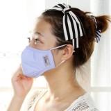 骑行防护男女成人防雾霾防晒防PM2.5透气抗菌防尘口罩 PM-002(S码) 粉色