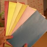 糖果色荧光纯色信封 10个/袋