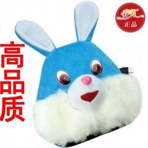 春笑牌 USB暖手保暖鼠标垫/暖手宝-立体毛毛兔