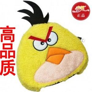 春笑牌 USB暖手保暖鼠标垫/暖手宝-经典愤怒的小鸟(圆形黄色)