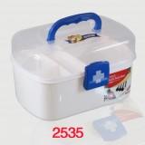 多功能家庭用医药箱/急救箱/美术用品收纳箱2535 一箱50个