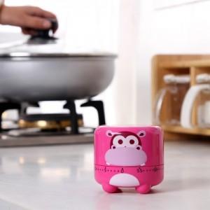 卡通动物造型厨房定时器 提醒器 倒计时 机械闹钟 计时器 RB226 黄色小鸡