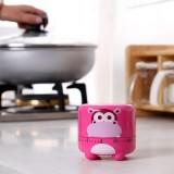 卡通动物造型厨房定时器 提醒器 倒计时 机械闹钟 计时器 RB226 棕色小猴
