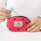 正品  韩国创意爱点点-零钱包 LGAD-3890 黑色红桃