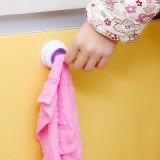 厨房多用洗碗布夹 抹布擦手巾夹 紫色