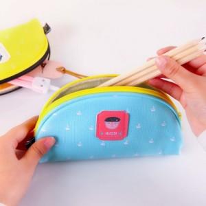 韩国创意海盗传奇饺子造型笔袋 MH1402-029 橙色