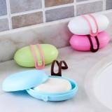 居家旅行必备 时尚便携式旅行密封肥皂盒 香皂盒 LKL-039 粉色
