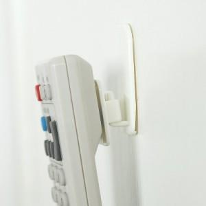 家居用品 电视 空调遥控器挂钩 收纳粘钩(2对装)1141
