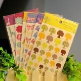 色彩物语DIY装饰贴纸(6张/袋)QL-0201