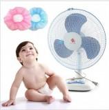 韩版 儿童安全用品网状风扇罩/风扇保护罩/保护宝宝手指 绿色 800个/箱