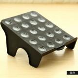 多用收纳空间DIY整理鞋架 日式大阪城鞋架-黑色