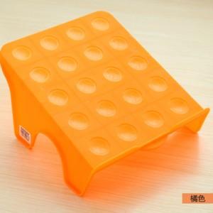 多用收纳空间DIY整理鞋架 日式大阪城鞋架-橙色