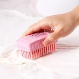 30年老品牌振兴 多功能软毛小号方形刷 防滑洗衣刷 SAM7919