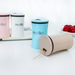 欧式雅典时尚创意高档牙签盒调味瓶牙签筒6003 卡其色
