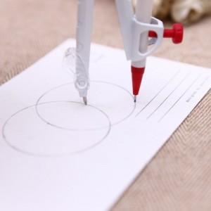 学生文具制图绘图工具 哈噜的畅想圆规套装 ACS90830