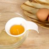 厨房蛋清分离器 鸡蛋蛋黄分蛋器 硅胶卡壳卡碗器