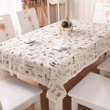 欧式棉麻蕾丝花边餐桌布 餐桌垫(大号130*180cm) 梦回铁塔