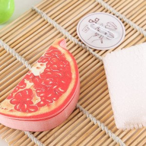 韩国文具 可爱水果便签本子 便利贴 N次贴(石榴)