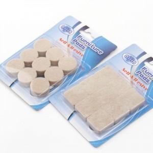 加厚5MM毛毡防滑家居桌脚垫家具脚垫 沙发垫 TP41 方形18片
