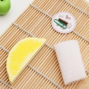 韩国文具 可爱水果便签本子 便利贴 N次贴(柠檬)
