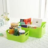 炫彩多功能桌面整理盒/收纳筐--绿色(大号)