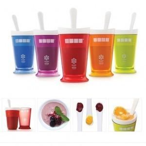 美国冰沙杯 沙冰杯/奶昔杯 冰淇淋杯机-蓝色