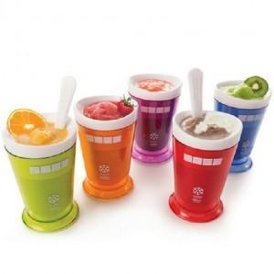 美国冰沙杯 沙冰杯/奶昔杯 冰淇淋杯机-红色