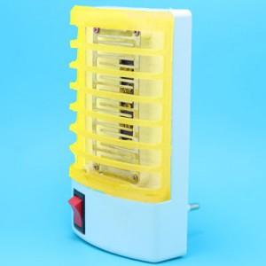 带开关小平头灭蚊灯 驱蚊小夜灯 led插座灯 黄色