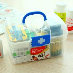 多功能家庭用医药箱/急救箱/美术用品收纳箱2522 一箱60个