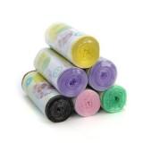 吸塑彩色无异味加厚点断式垃圾袋 平口45*52(单个装)30只