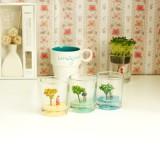 正品 创意家居DIY桌面创意绿植盆栽 四季杯栽培系列 春意盎然