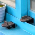 移窗移门儿童安全锁 推拉门窗户限位器 窗户安全锁