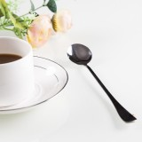 韩国创意不锈钢长柄勺子 环保办公室咖啡勺搅拌勺 长汤勺