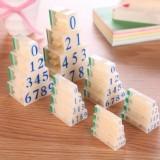 数字组合号码印章(S-4)