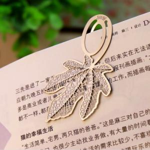 韩国文具创意银色不锈钢金属系列书签