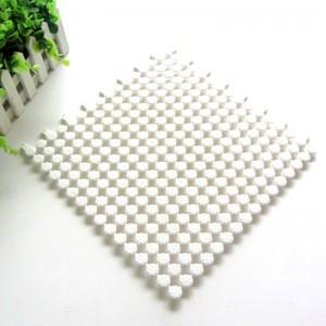 厨卫拼接圆点隔水垫 防滑垫--白色(30*30cm)