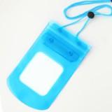 手机透明防水袋/漂流游泳多功能防水包 -天蓝色