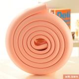 婴儿安全防撞条 桌椅保护条 宝宝防护用品 2米条纹款 粉色